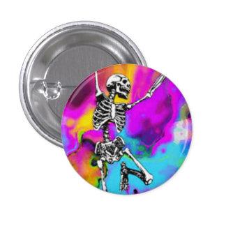 Squelette psychédélique pin's