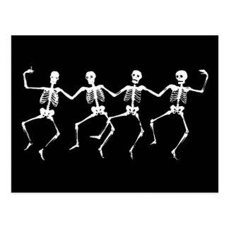Squelettes de danse II Carte Postale