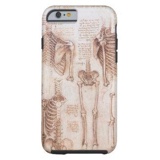 Squelettes humains d'anatomie par Leondardo da Coque Tough iPhone 6