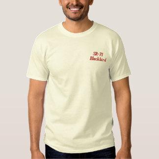 SR-71 T-shirt brodé par coutume (m)