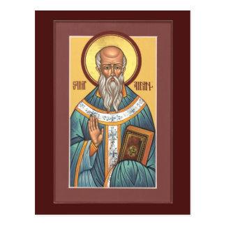 St Aidan de carte de prière de Lindisfarne