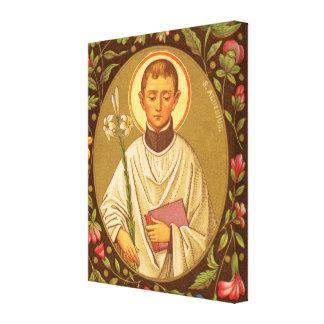 St Aloysius Gonzaga (P.M. 01) Toiles Tendues Sur Châssis