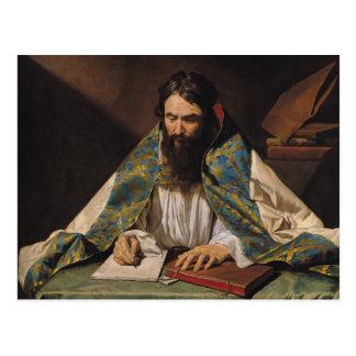 St Ambrose, c.1633-39 Carte Postale