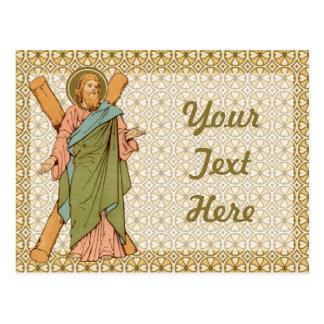 St Andrew la carte postale 1 de l'apôtre (RLS 01)