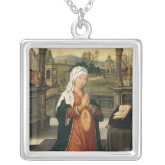 St Anne concevant la Vierge Pendentif Carré