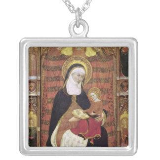 St Anne et la Vierge Pendentif Carré