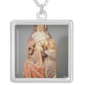 St Anne, la Vierge et enfant, Pendentif Carré
