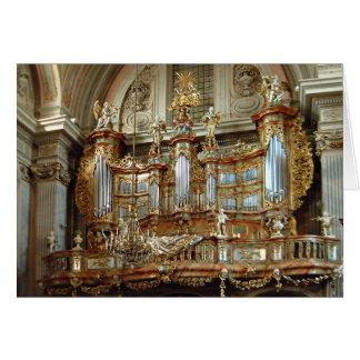 St Anne, Varsovie, Pologne Carte De Vœux