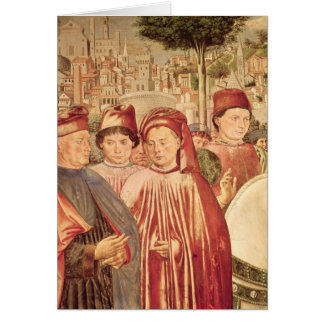 St Augustine partant pour Milan Cartes