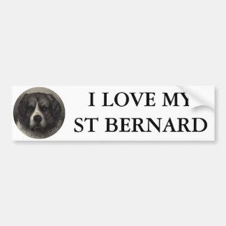 St Bernard Adhésifs Pour Voiture