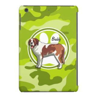 St Bernard camo vert clair camouflage Coque iPad Mini