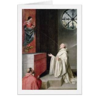 St Bernard et la Vierge Cartes