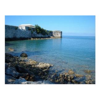St Catherine, Bermudes de fort Carte Postale