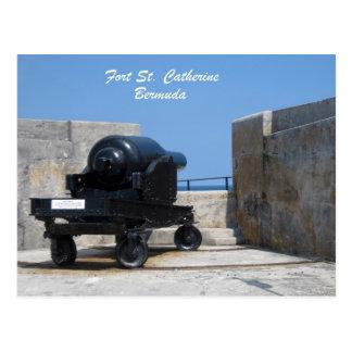 St Catherine Bermudes de fort Cartes Postales