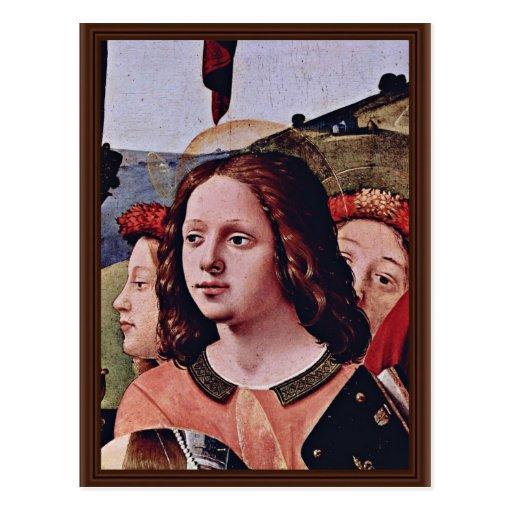 St Catherine d'anges de Mary et d'enfant de l'Alex Cartes Postales