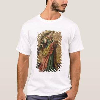 St Catherine de l'Alexandrie (huile sur le T-shirt
