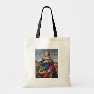 St Catherine de l'Alexandrie par Raffael Sacs En Toile