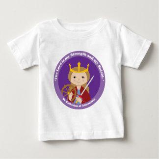 St Catherine de l'Alexandrie T-shirt Pour Bébé