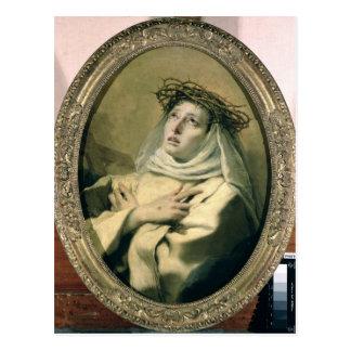 St Catherine de Sienne, c.1746 Cartes Postales