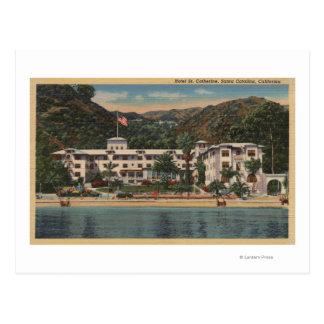 St Catherine d'hôtel dans Père Noël Catalina, Carte Postale