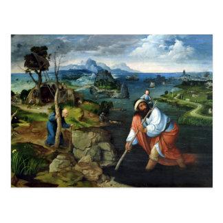 St Christopher Carte Postale