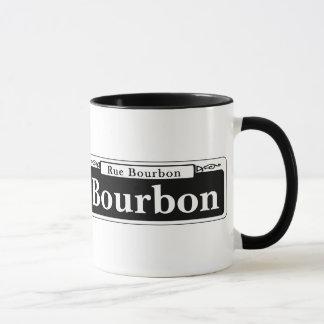 St de Bourbon, plaque de rue de la Tasse