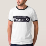 St de paix, plaque de rue de la Nouvelle-Orléans T-shirt