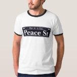St de paix, plaque de rue de la Nouvelle-Orléans T-shirts