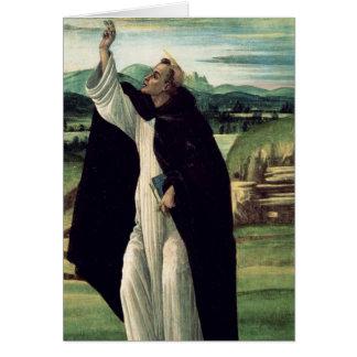 St Dominic, c.1498-1505 Cartes