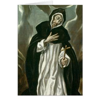 St Dominic de Guzman Carte De Vœux