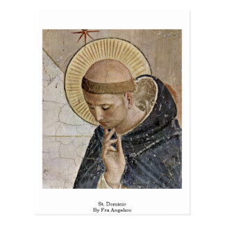 St Dominic par ATF Angelico Carte Postale