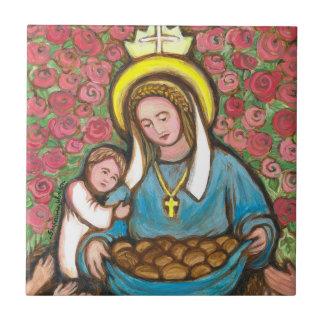 St Elizabeth de la Hongrie Petit Carreau Carré