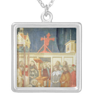 St Francis d'Assisi Pendentif Carré