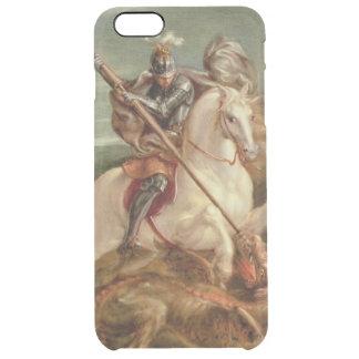 St George massacrant le dragon, (huile sur le Coque iPhone 6 Plus