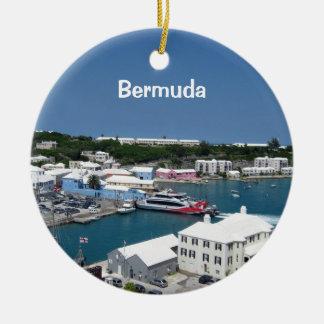 St Georges, Bermudes Ornement Rond En Céramique