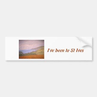 St Ives les Cornouailles Adhésifs Pour Voiture