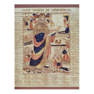 St James de Compostela, c.1824 Carte Postale