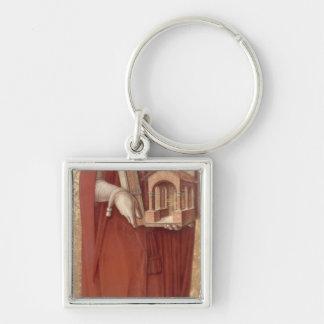 St Jerome, c.1476 Porte-clé Carré Argenté