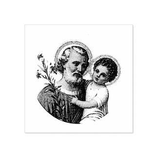 St Joseph avec le bébé Jésus