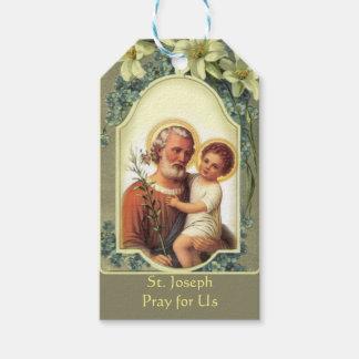 St Joseph jour de fête étiquettes vintages de