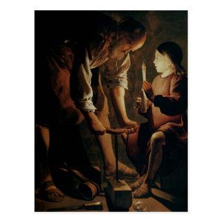 St Joseph, le charpentier Carte Postale