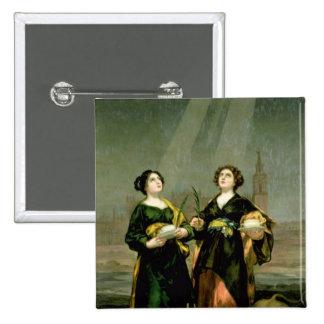 St Justina et St Rufina, 1817 Badges