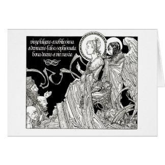 St Katherine de carte pour notes de l'Alexandrie