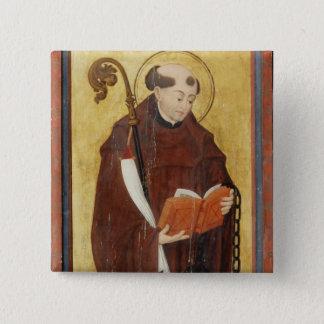 St Leonard (huile sur panneau moulu d'or) (paire Badge