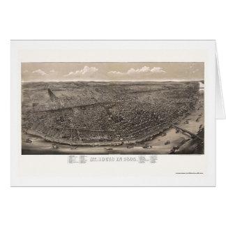 St Louis, carte panoramique de MOIS - 1895