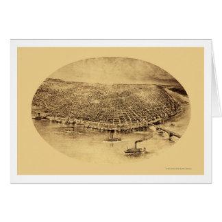 St Louis, carte panoramique de MOIS - 1897