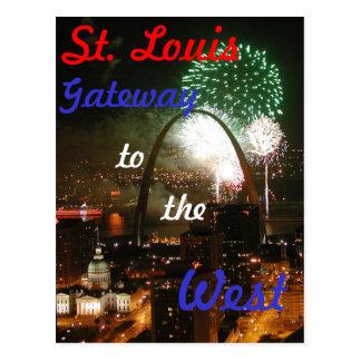 St Louis, carte postale de MOIS