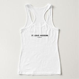 St Louis, Missouri, tee - shirt impressionnant de Débardeur
