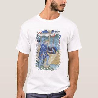 St Louis s'embarquant pour les croisades T-shirt