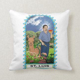 St Luis et son coussin de Miliminator de lama